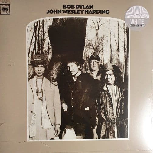 BOB DYLAN John Wesley Harding Vinyl Record LP Columbia 2021 White Vinyl