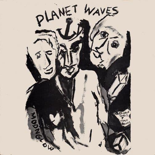 BOB DYLAN Planet Waves Vinyl Record LP Island 1974