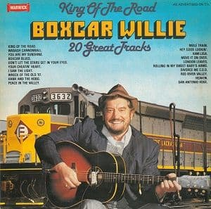 BOXCAR WILLIE King Of The Road Vinyl Record LP Warwick 1980