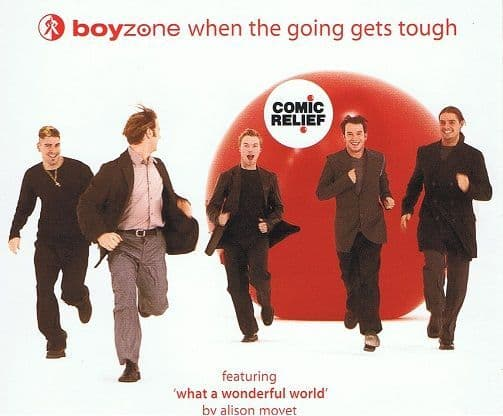 BOYZONE When The Going Gets Tough CD Single Polydor 1999