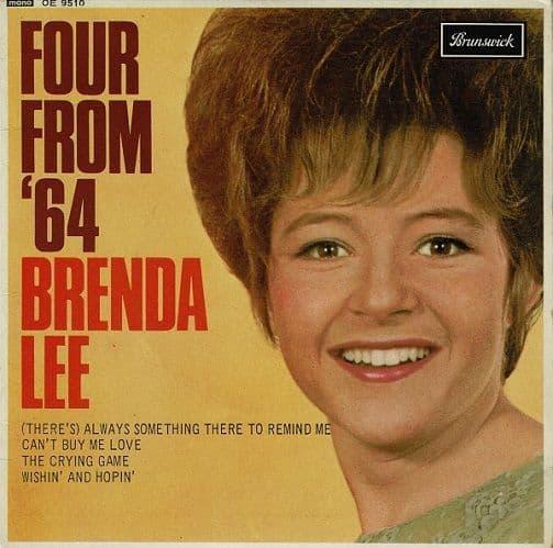 BRENDA LEE Four From '64 EP Vinyl Record 7 Inch Brunswick 1965