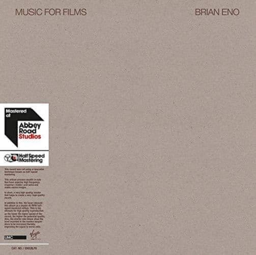 BRIAN ENO Music For Films Vinyl Record LP Virgin EMI 2018