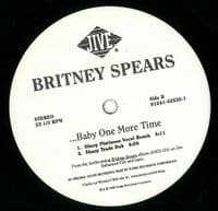 BRITNEY SPEARS ...Baby One More Time Vinyl Record 12 Inch US Jive 1998