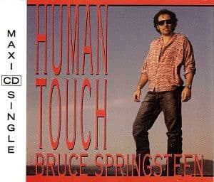 BRUCE SPRINGSTEEN Human Touch CD Single Columbia 1992