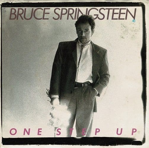 BRUCE SPRINGSTEEN One Step Up Vinyl Record 7 Inch US Columbia 1988