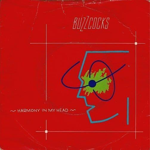 BUZZCOCKS Harmony In My Head Vinyl Record 7 Inch United Artists 1979.