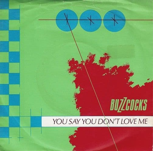 BUZZCOCKS You Say You Don't Love Me Vinyl Record 7 Inch United Artists 1979