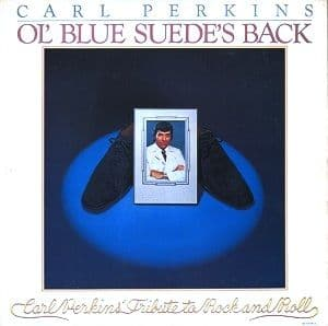CARL PERKINS Ol' Blue Suede's Back Vinyl Record LP Jet 1978