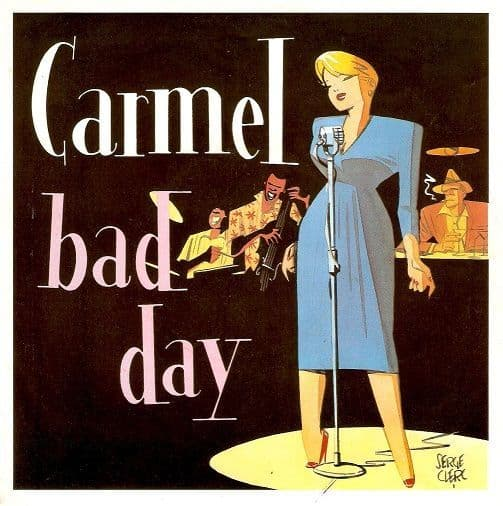 CARMEL Bad Day Vinyl Record 7 Inch London 1983