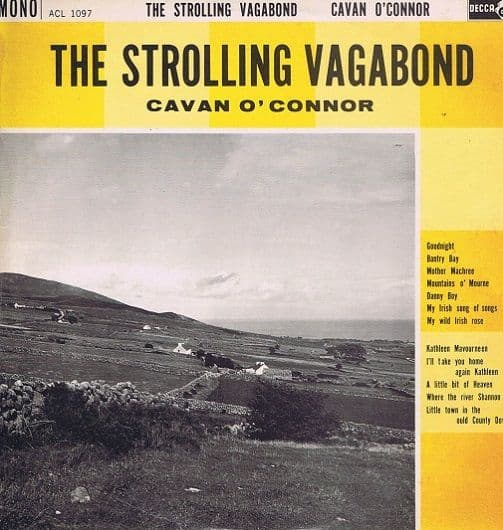 CAVAN O'CONNOR The Strolling Vagabond LP Vinyl Record Album 33rpm Ace Of Clubs 1962
