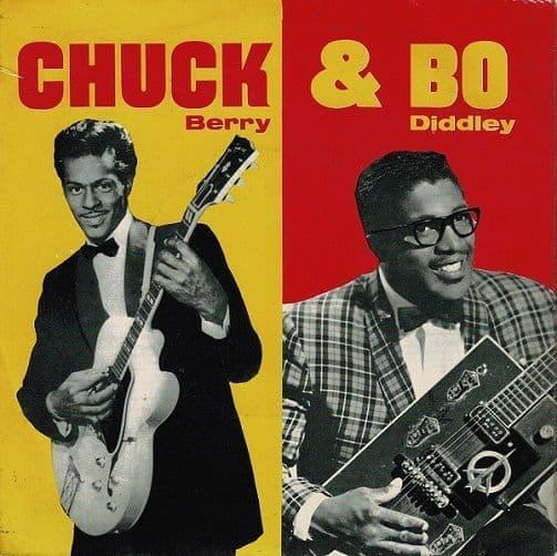 CHUCK BERRY AND BO DIDDLEY Chuck & Bo EP Vinyl Record 7 Inch Pye 1963