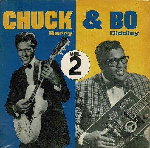 CHUCK BERRY AND BO DIDDLEY Chuck & Bo Vol. 2 EP Vinyl Record 7 Inch Pye 1963