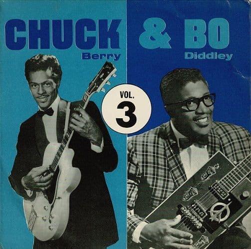 CHUCK BERRY AND BO DIDDLEY Chuck & Bo Vol. 3 EP Vinyl Record 7 Inch Pye 1964