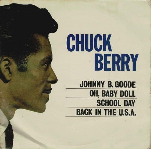 CHUCK BERRY Chuck Berry EP Vinyl Record 7 Inch Pye 1963