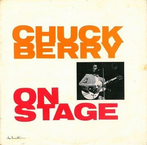 CHUCK BERRY Chuck Berry On Stage Vinyl Record LP Pye 1963