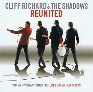 CLIFF RICHARD AND THE SHADOWS Reunited CD Album EMI 2009