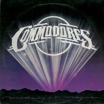 COMMODORES Midnight Magic LP Vinyl Record Album 33rpm STMA 8032 Motown 1979