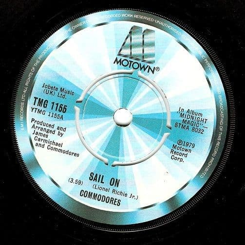 Commodores Sail On Vinyl 7 Inch | Planet Earth Records