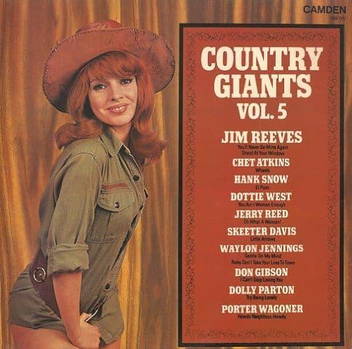 Country Giants Vol. 5 Vinyl Record LP RCA Camden 1974
