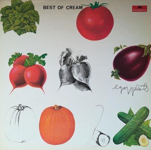 CREAM Best Of Cream Vinyl Record LP Polydor 1969