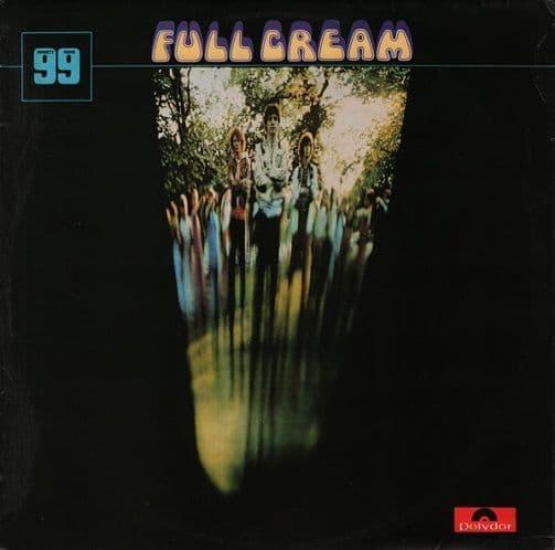CREAM Full Cream Vinyl Record LP Polydor 1970