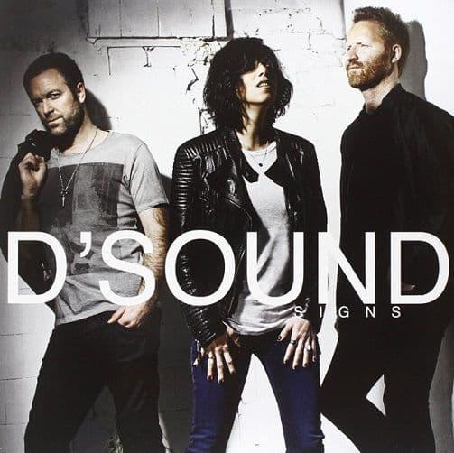 D'SOUND Signs Vinyl Record LP RCA 2014