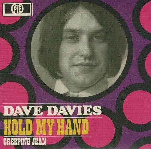 DAVE DAVIES Hold My Hand Vinyl Record 7 Inch BMG 2019