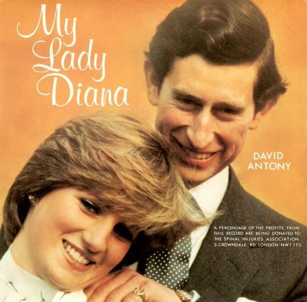 DAVID ANTONY My Lady Diana Vinyl Record 7 Inch I.G.A 1981