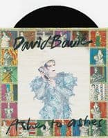 DAVID BOWIE Ashes To Ashes Vinyl Record 7 Inch RCA 1980