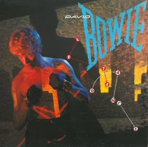 DAVID BOWIE Let's Dance Vinyl Record LP EMI America 1983