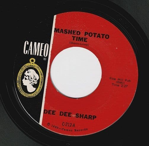 DEE DEE SHARP Mashed Potato Time Vinyl Record 7 Inch US Cameo 1962