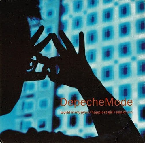 DEPECHE MODE World In My Eyes Vinyl Record 7 Inch Mute 1990