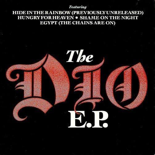 DIO The Dio E.P. Vinyl Record 7 Inch Vertigo 1986 Double Pack