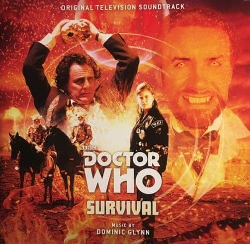 Doctor Who - Survival Vinyl Record LP Silva Screen 2017