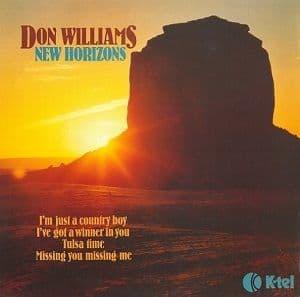 DON WILLIAMS New Horizons Vinyl Record LP K-Tel 1979