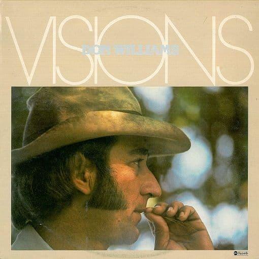 DON WILLIAMS Visions LP Vinyl Record Album 33rpm ABC 1977