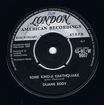 DUANE EDDY Some Kind-a Earthquake Vinyl Record London 1959