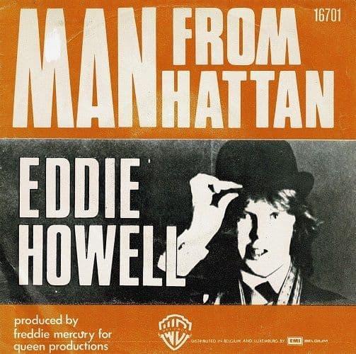 EDDIE HOWELL Man From Manhattan Vinyl Record 7 Inch Belgian Warner Bros. 1976