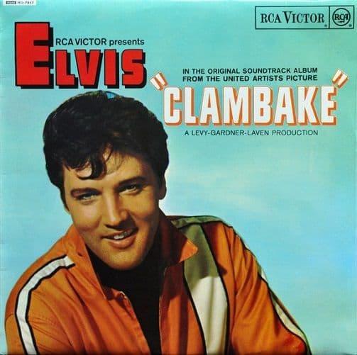 ELVIS PRESLEY Clambake Vinyl Record LP RCA Victor 1968.