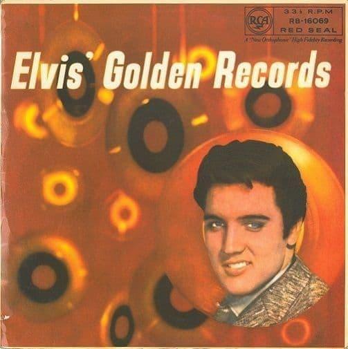 ELVIS PRESLEY Elvis' Golden Records Vinyl Record LP RCA Red Seal 1959