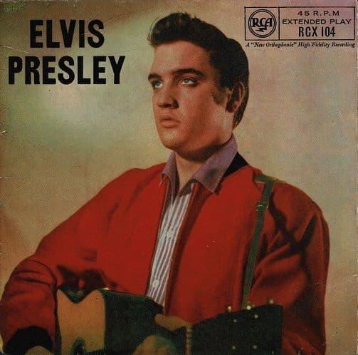 ELVIS PRESLEY Elvis Presley EP Vinyl Record 7 Inch RCA Victor 1962