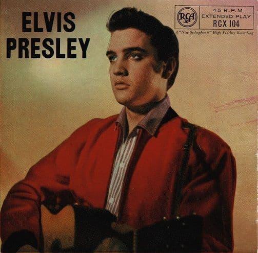 ELVIS PRESLEY Elvis Presley EP Vinyl Record 7 Inch RCA Victor 1964
