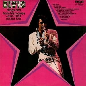ELVIS PRESLEY Elvis Sings Hits From His Movies Vinyl Record LP RCA Camden 1972