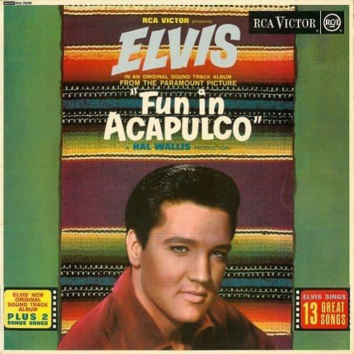 ELVIS PRESLEY Fun In Acapulco Vinyl Record LP RCA Victor 1963