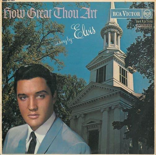 ELVIS PRESLEY How Great Thou Art Vinyl Record LP RCA Victor 1967