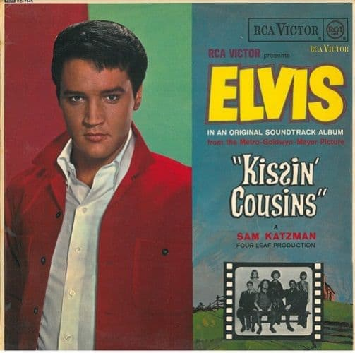 ELVIS PRESLEY Kissin' Cousins Vinyl Record LP RCA Victor 1964.