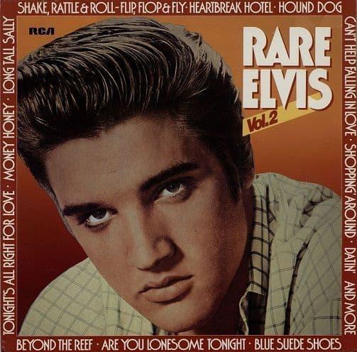 ELVIS PRESLEY Rare Elvis Vol. 2 Vinyl Record LP RCA Victor 1983