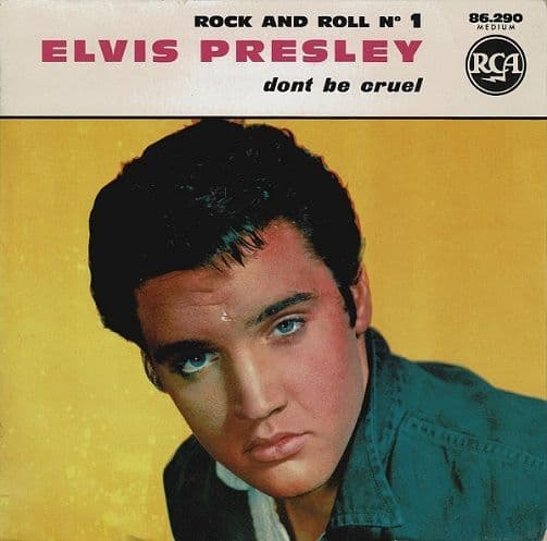 ELVIS PRESLEY Rock And Roll No. 1 EP Vinyl Record 7 Inch French RCA Victor 1965