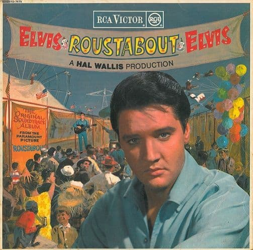 ELVIS PRESLEY Roustabout Vinyl Record LP RCA Victor 1964