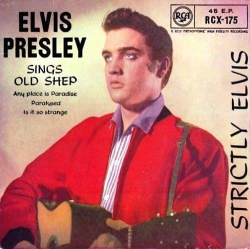 ELVIS PRESLEY Strictly Elvis EP Vinyl Record 7 Inch RCA 1959